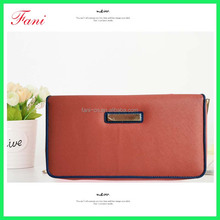 Brand Design High Quality PU Leather Wallet Female Fashion Dollar Price Long Women Wallets And Purses wholesale