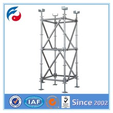 Scaffolding Frame Part Adjustable U Head Jack Base
