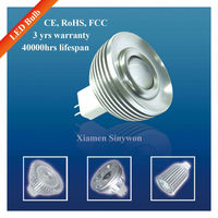 Sinywon New Modern 3W COB MR16 Led Light Spot