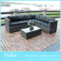 Outdoor big corner Wicker Sofa/lounge Furniture