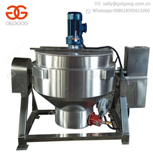 Professional Jacketed Cooking Kettle Biryani Cooking Machine Steam Cooking Kettle Mixer