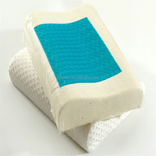 Wholesale Cheap Soft Cool Contour 55D Gel Memory Foam Pillow Hangzhou Manufacture