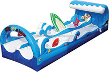 The newest product high quality durable pvc inflatable water N slip