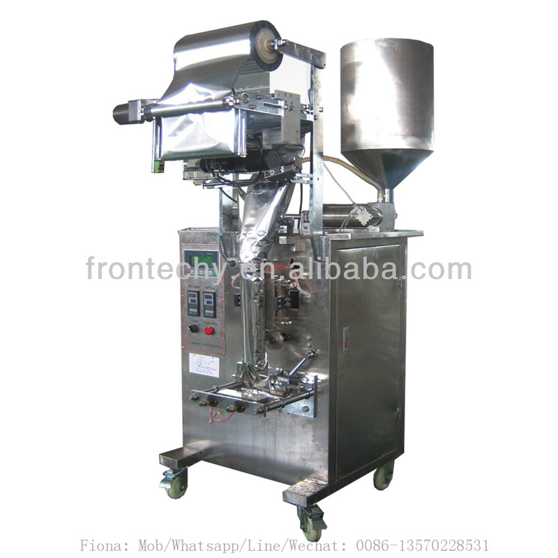new professional vertical paste sachet packing machine/tomato sauce filling sealing machine