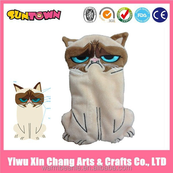 plush Grumpy Cat toys animal pencil case