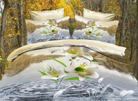China supplier flawerling size big 3d bedding set clearance