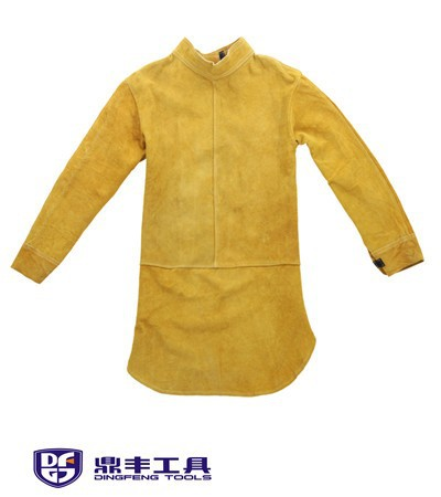 Cow Split Leather Welding Protective Clothing Welding Clothes Welder Safety Jacket