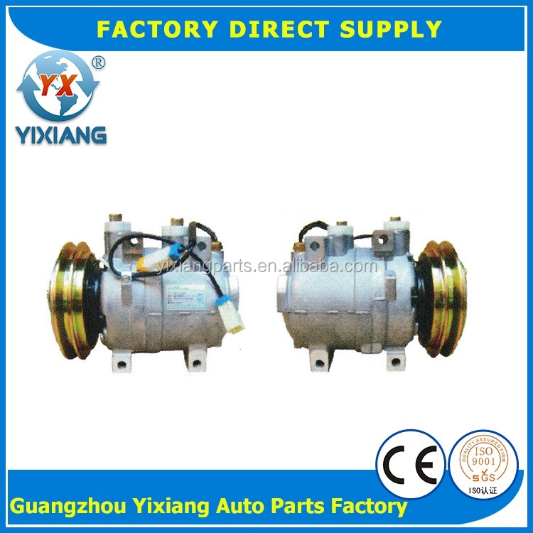 High Quality 290EX01027 135MM Pulley DKV14C Excavator Auto Air Conditioning 24V Compressor For Hyundai Mando Loader