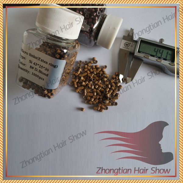 silicon Micro ring hair used for hair nano ring hair extensions tools