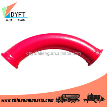 construction manufacturer 3 inch concrete pump pipe and elbow