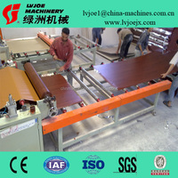 coating and laminating machines for gypsum ceiling board