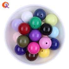 Fashion DIY Jewelry Handmade Beaded Accessories 20MM Mix Color Acrylic Chunky Bubblegum Beads For Kids Necklaces Jewlery