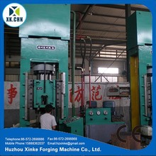 Xinke HY61 hydraulic hot press machine for metal extrusion