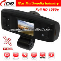"japanese 1.5""LCD g-sensor gs1000 gps night vision 1080p full hd spy-camera"