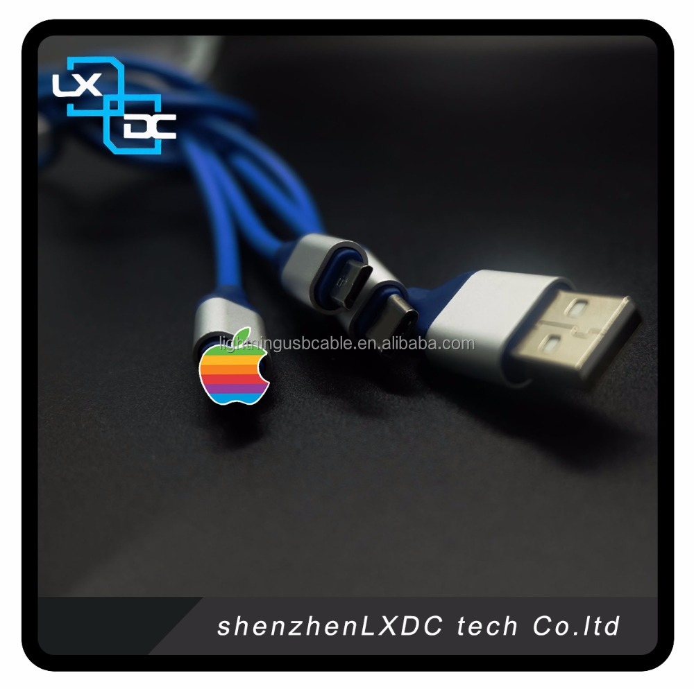 Multi USB Cable 3 in 1 USB Cable for IOS 10 Type C and Android Devices