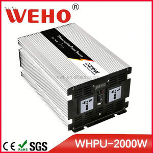 Factory directly selling 2000w 24v 110v power inverter inductive load with charger