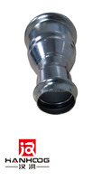 Stainless Steel Pipe Fittings Sanitary Coupling Reducer 304 SMS