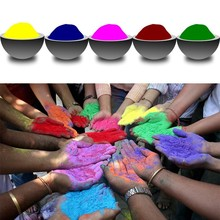 50 Packs of Festival Holi Multicolor Bulk Powder Color Run Powder