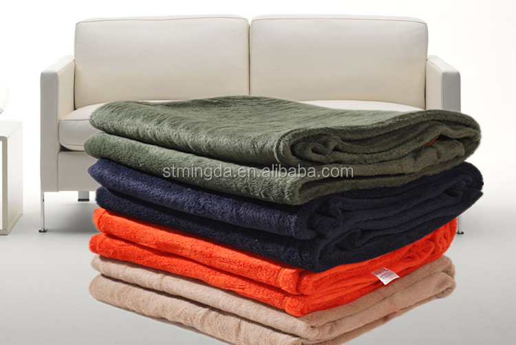 fire proof blanket ,polar fleece,made of meta aramid