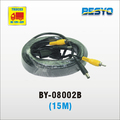 Car monitor AV connector extended cable 15M BY-08002B-15M