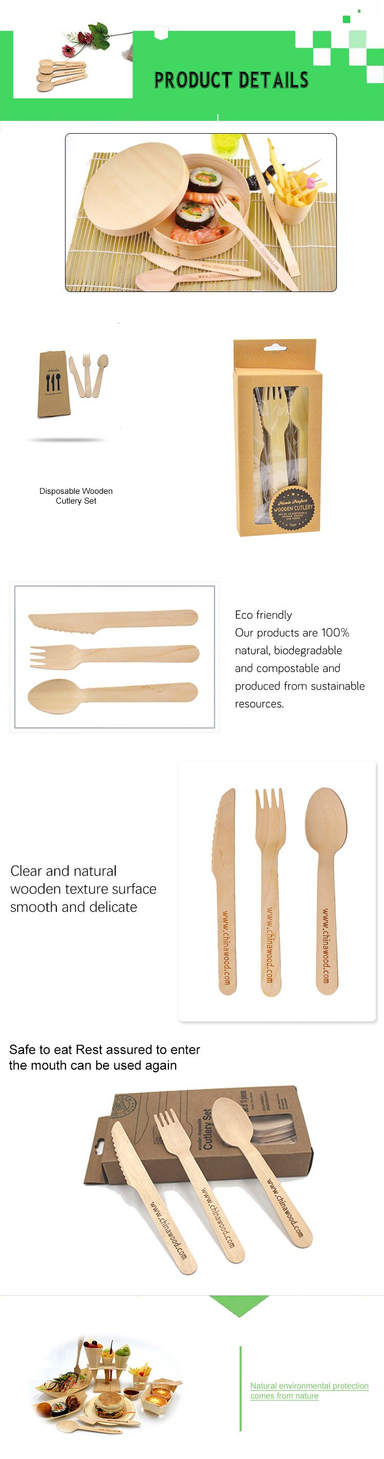 Most popular wooden handle kitchen knives bulk forks and funky spoons
