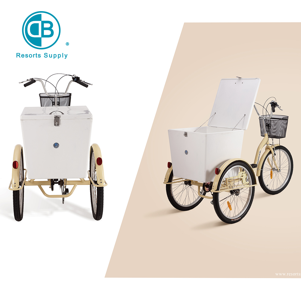 Aluminium alloy cargo tricycle bike