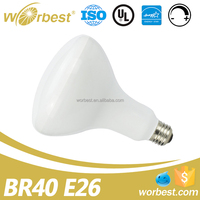 BR40 LED Bulb, 12W (65W equivalent), 1050lm, 2700K (Soft White Glow),Wide Flood Light, E26 Base, Dimmable, UL ENERGY STAR