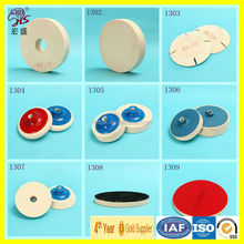 2016 new product Manufacturer of woolen wheel polishing wheel for mirror finishing high quality