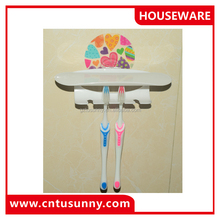 High Quality Automatic Toothpaste Dispenser Toothbrush Holder