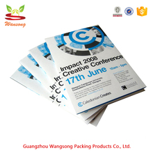 factory made cheap brochure printing, high quality made a4 size brochure design