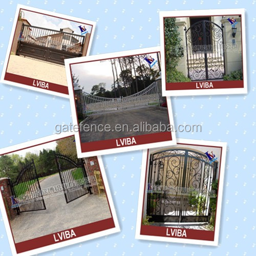 Wrought iron gate & indian house main gate designs