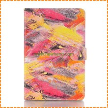 Painting Graffiti Stand Flip Leather Case For iPad Mini 4