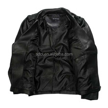 New Design Leather Jacket Biker Design Vintage Motorcycle Leather Jacket/Casual Sexy Leather Jacket