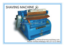 450MM wet leather shaving machine for sheep,goat or other small skins/leather processing machine/tannery machine