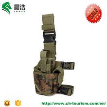 Manufacturer adjustable tactical hand gun holster durable 600D military ,painball airsoft polcie pistol holster