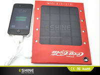 1000mah Utra slim solar panel charger for iphone,solar power chargers for mobile phone