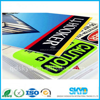 Advertising plastic PP Corrugated Sign Board