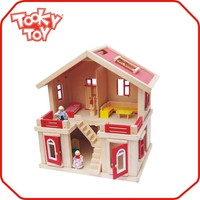 Big Outdoor Toys Kids & Children Wooden Playhouse doll house door wholesale