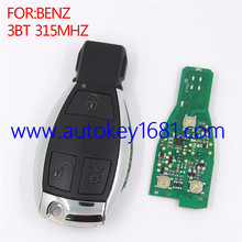 remote car key for mercedes benz 3button 315mhz smart key