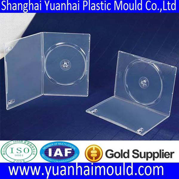 low price plastic dvd case mould factory in Shanghai