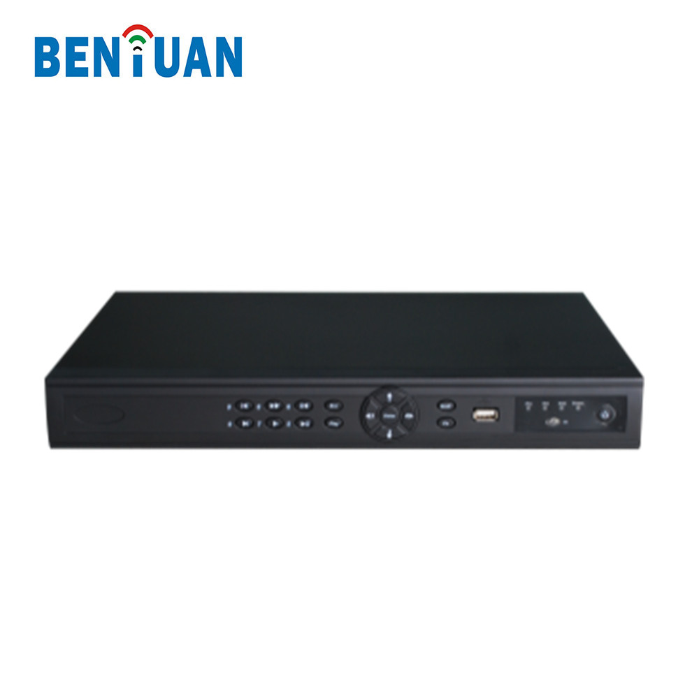 P2P Onvif 2 Sata HDD IP Video Recorder 1080P CCTV POE NVR Support Cloud Storage