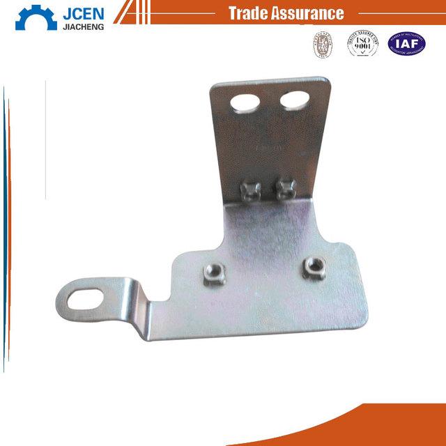 2017 OEM steel custom stampings pe rattan furniture parts