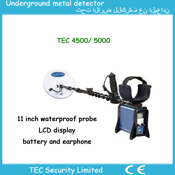 Best perfomance gold king underground metal detector with cheap price TEC-4500