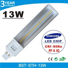 2014 High Quality 13W PL LED Lamp, G24 LED PL Light, PL LED Bulb