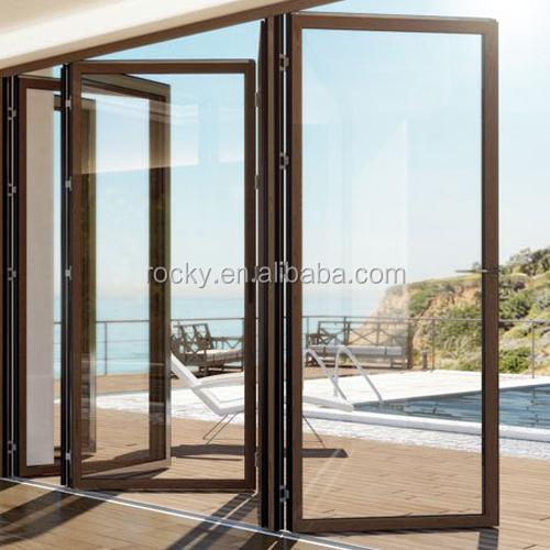 China Folding Aluminum Doors China Folding Aluminum Doors