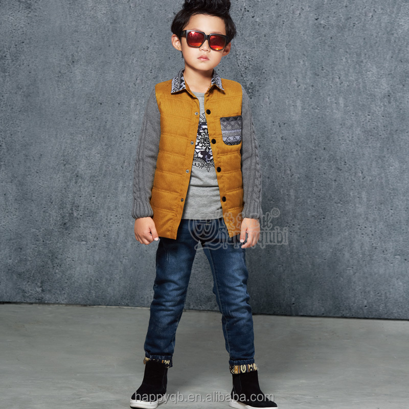 2017 Boy Kids Winter Pants Children Winter Jeans Trousers New Style Pants Boys Jeans Appealing Look Baby Boy Cago Pant