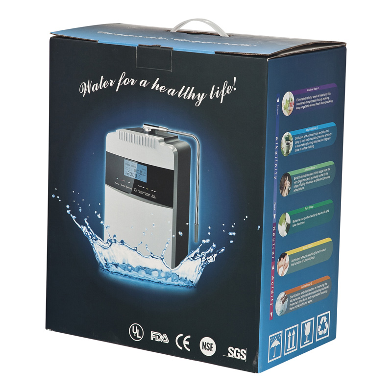 Mineral water dispenser make pure alkaline water