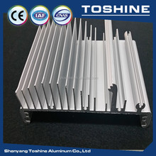 TOP aluminium extrusion 6063 profile factory supplier,extruded aluminum enclosure,heatsink/LED casing enclosure profile,OEM