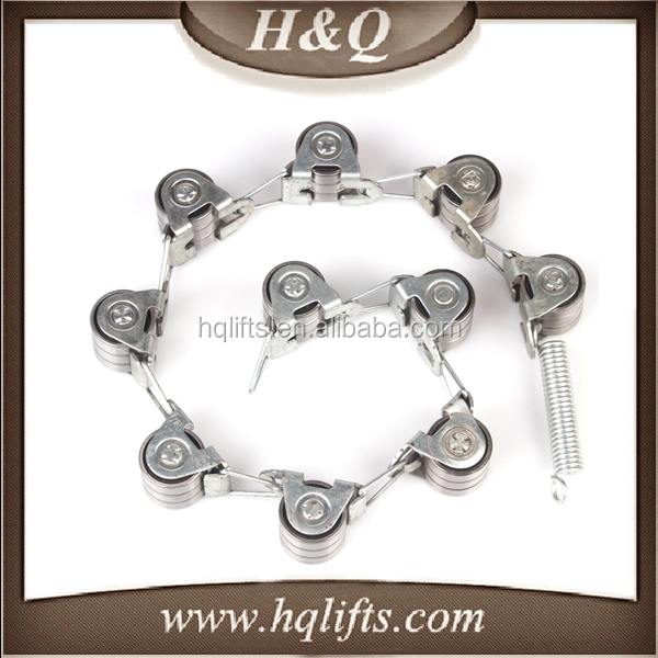 HQ Escalator Handrail Rotary Chain Escalator Rotary Chain 17 joint