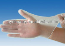 Hot sale !High quality hairdressing clear disposable vinyl gloves